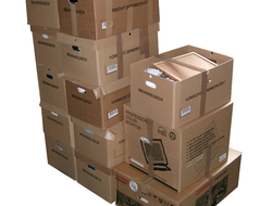 Stacking boxes requires muscular strength and endurance