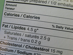 Learn how to read nutrition fact labels