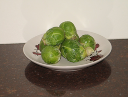 Brussels sprouts: 1 cup